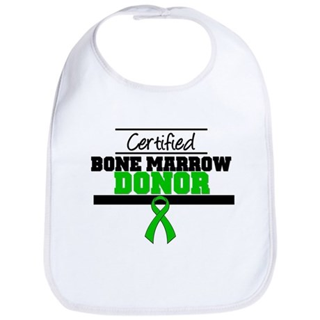 Certified Bone Marrow Donor Bib