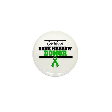 Certified Bone Marrow Donor Mini Button (10 pack)