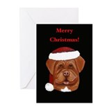 Dogue de Bordeaux Christmas Cards (Pk of 10)