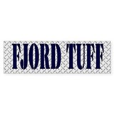 TUFF Fjord Horse Bumper Sticker