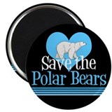 "Save the Polar Bears 2.25"" Magnet (10 pack)"
