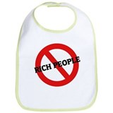 Anti-Rich People Bib