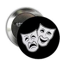 "Theatre Masks (v2) 2.25"" Button (100 pack)"