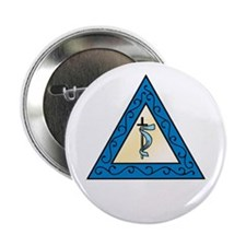 "OES Adah 2.25"" Button (10 pack)"