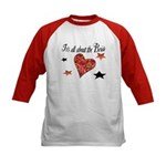 It's all about the Bride Kids Baseball Jersey