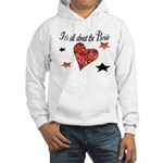 It's all about the Bride Hooded Sweatshirt