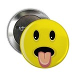 Smiley Face - Tongue Out 2.25