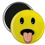 Smiley Face - Tongue Out Magnet