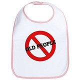 Anti-Old People Bib