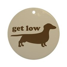 Get Low Keepsake (Round)
