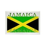 Jamaica Jamaican Flag Rectangle Magnet