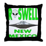 'Roswell New Mexico' Throw Pillow