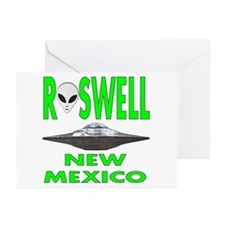 'Roswell New Mexico' Greeting Cards (Pk of 10)