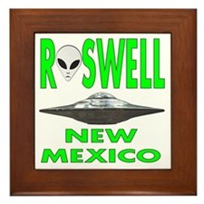 'Roswell New Mexico' Framed Tile