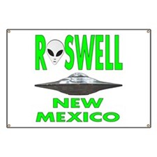 'Roswell New Mexico' Banner