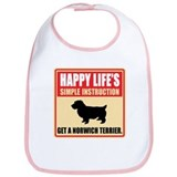 Norwich Terrier Bib