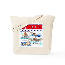 Swimming (F) Tote Bag