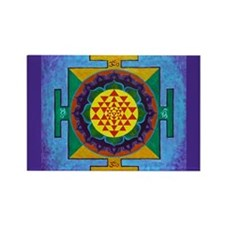 Cool Mandala Rectangle Magnet (10 pack)
