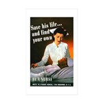 Be A Nurse Rectangle Sticker 10 pk)