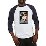 Be A Nurse (Front) Baseball Jersey