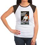 Be A Nurse (Front) Women's Cap Sleeve T-Shirt