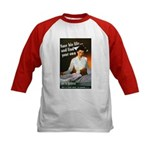 Be A Nurse (Front) Kids Baseball Jersey