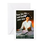 Be A Nurse Greeting Cards (Pk of 10)