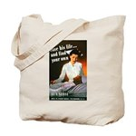 Be A Nurse Tote Bag