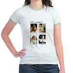 Freedom to Fight For Jr. Ringer T-Shirt