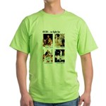 Freedom to Fight For Green T-Shirt