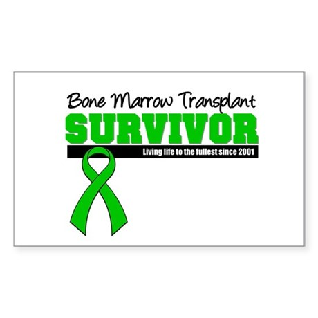 BMT Survivor 2001 Rectangle Sticker