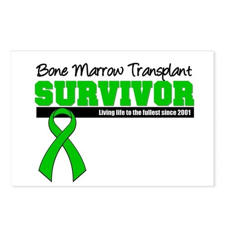 BMT Survivor 2001 Postcards (Package of 8)