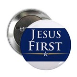 "Cute Jesus 2.25"" Button"