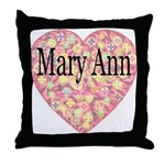 Mary Ann Throw Pillow