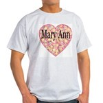 Mary Ann Ash Grey T-Shirt