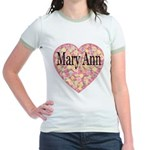 Mary Ann Jr. Ringer T-Shirt