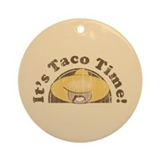It's Taco Time! Keepsake (Round)