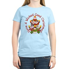 Wicked Good! Snowmen Women's Light T-Shirt