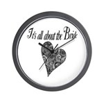 It's all about the Bride Wall Clock