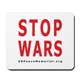 Cute Antiwar Mousepad