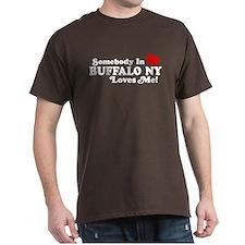 Somebody In Buffalo NY Loves Me T-Shirt