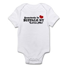 Somebody In Buffalo NY Loves Me Infant Bodysuit