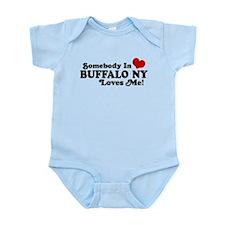 Somebody In Buffalo NY Loves Me Infant Bodysuit