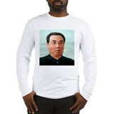 Kim Il-sung Long Sleeve T-Shirt