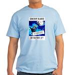 Somebody Blabbed Gossip Light T-Shirt