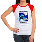 Somebody Blabbed Gossip Women's Cap Sleeve T-Shirt