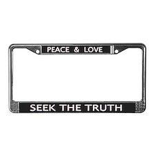 Seek The Truth - License Plate Frame
