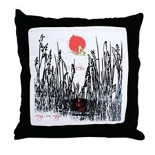 Rising Sun Seaside Throw Pillow
