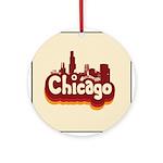 Retro Chicago Keepsake (Round)