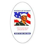 Enlist in the US Navy Oval Sticker (10 pk)